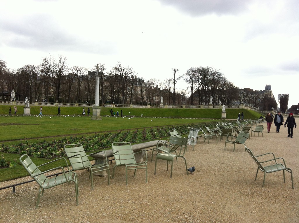 Jardines de Luxemburgo - Paris.