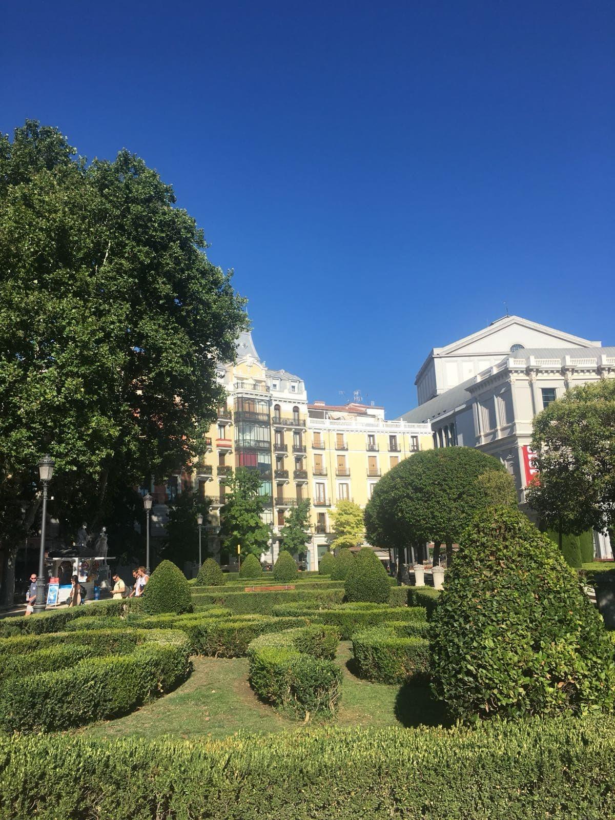 Jardines De Sabatini Que Ver En Madrid