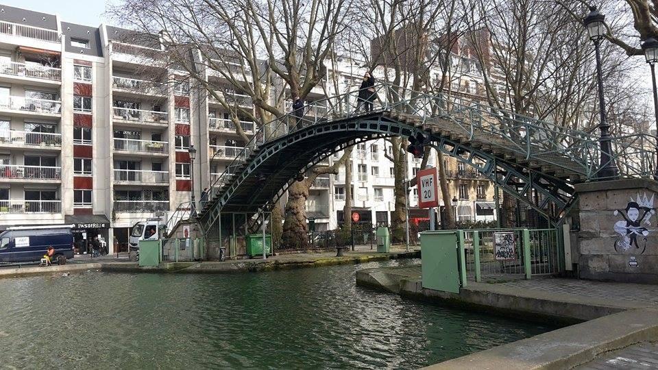 Kanał Świętego Marcina Paryż
