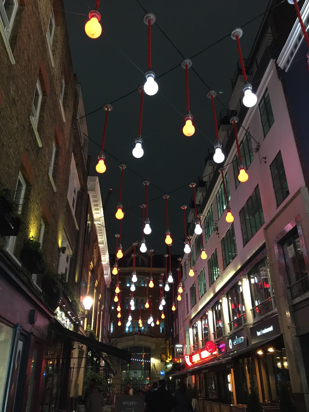 Kingly Court and Carnaby Street
