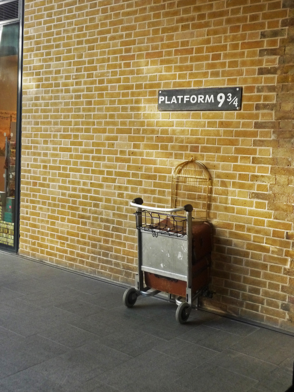 King`s Cross station?...*cue Harry Potter music*