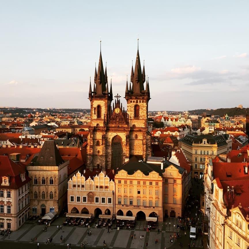 La ambigua fascinación por Praga