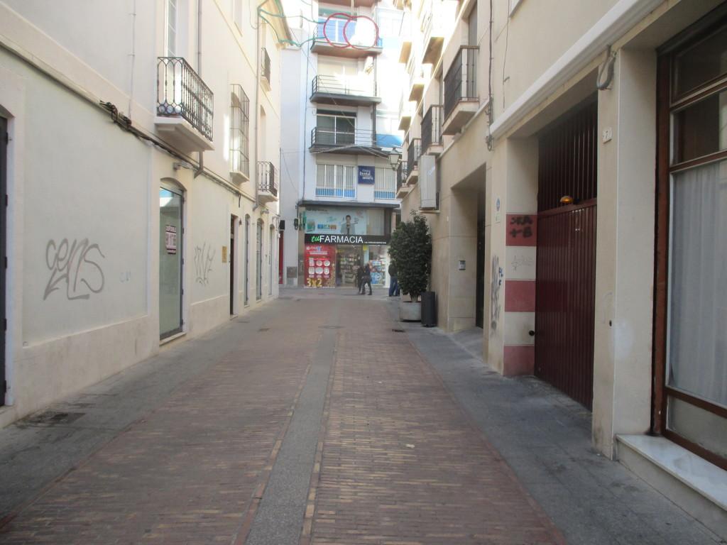 La calle del comercio tradicional