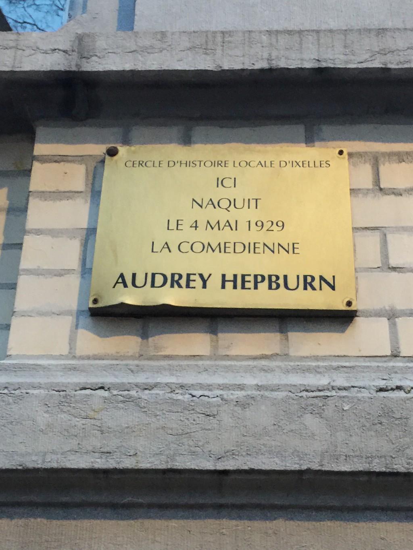 La casa natale di Audrey Hepburn, Bruxelles