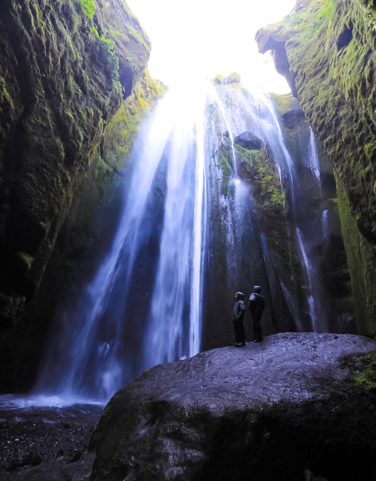 La cascata nascosta