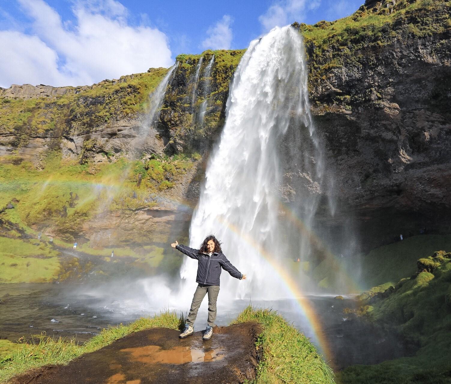 La cascata più fotogenica dell'Islanda