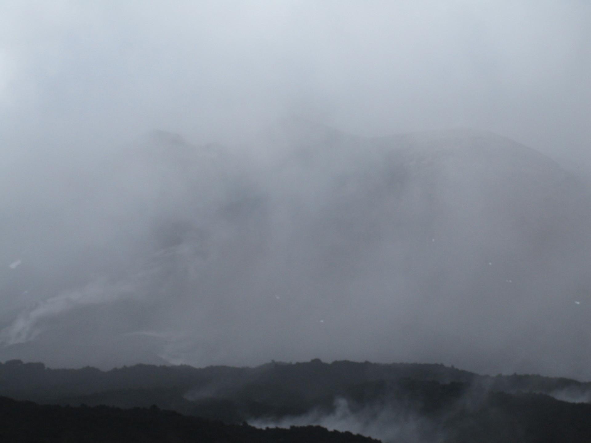 La cima del Etna