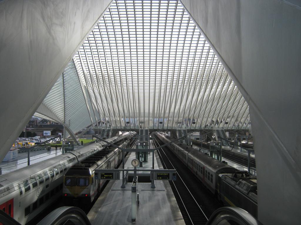 La estación de tren de película