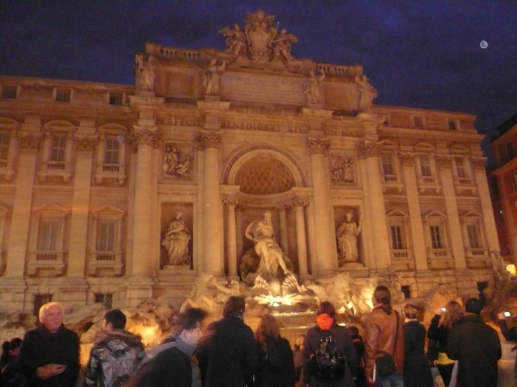 La fuente más bonita de Roma