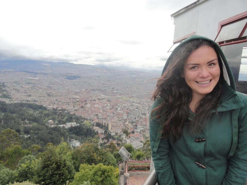 La miglior panoramica sulla città di Bogotá, vista dal Cerro Monserrate