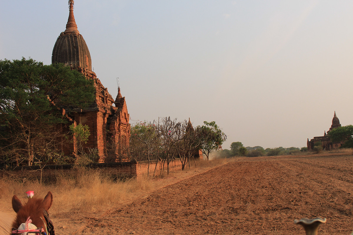 La pagoda Shwesandaw