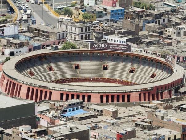 Resultado de imagen para Foto de Plaza de toros de Acho