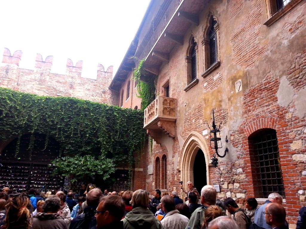 La romántica casa de Julieta - Verona