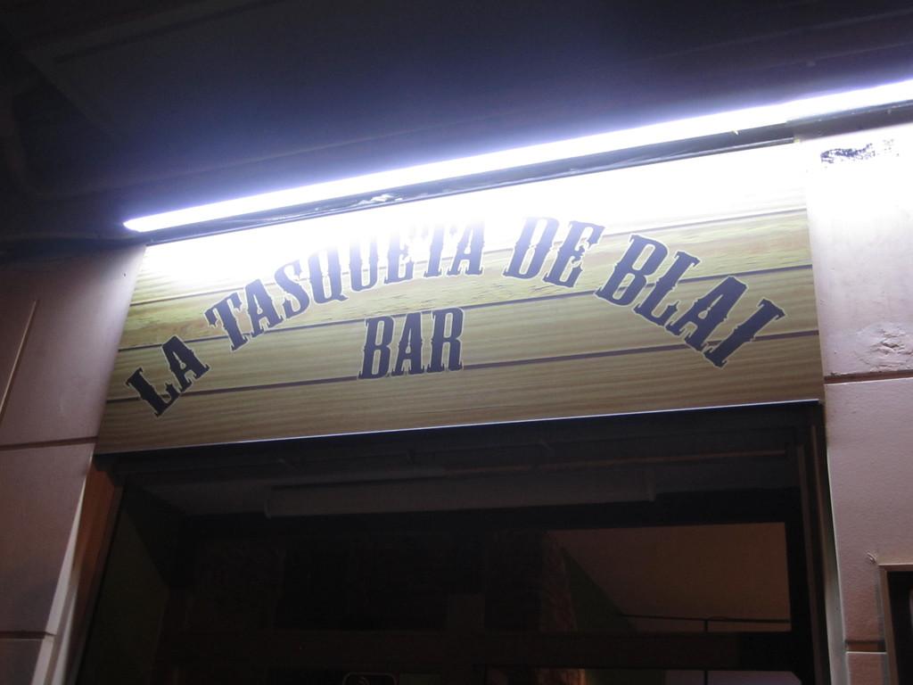 La Tasqueta de Blai'deki Pincho Cenneti