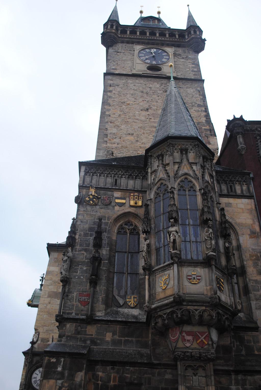 La torre del reloj de Praga