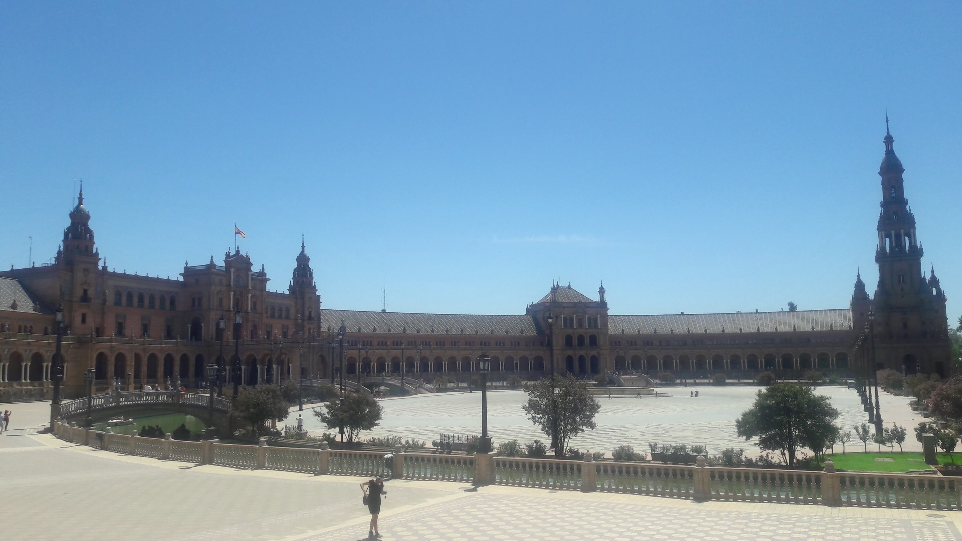 La vuelta al mundo en 59 días. Quinta parte: Sevilla