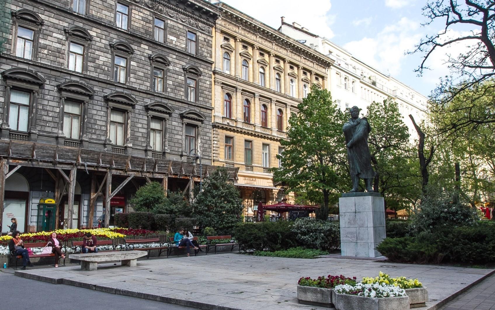 Budapest,  Erzsébet krt.