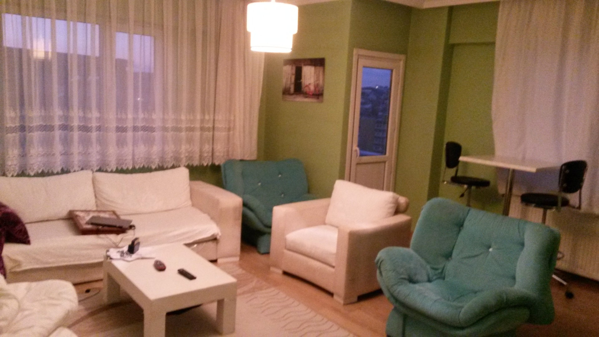 Large 3 rooms + living room fully furnished apartment in Şişli ...