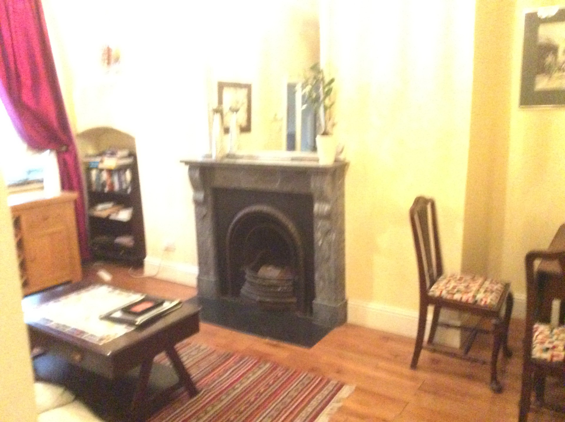 Large apartment in Georgian Dublin. It's totally self contained.