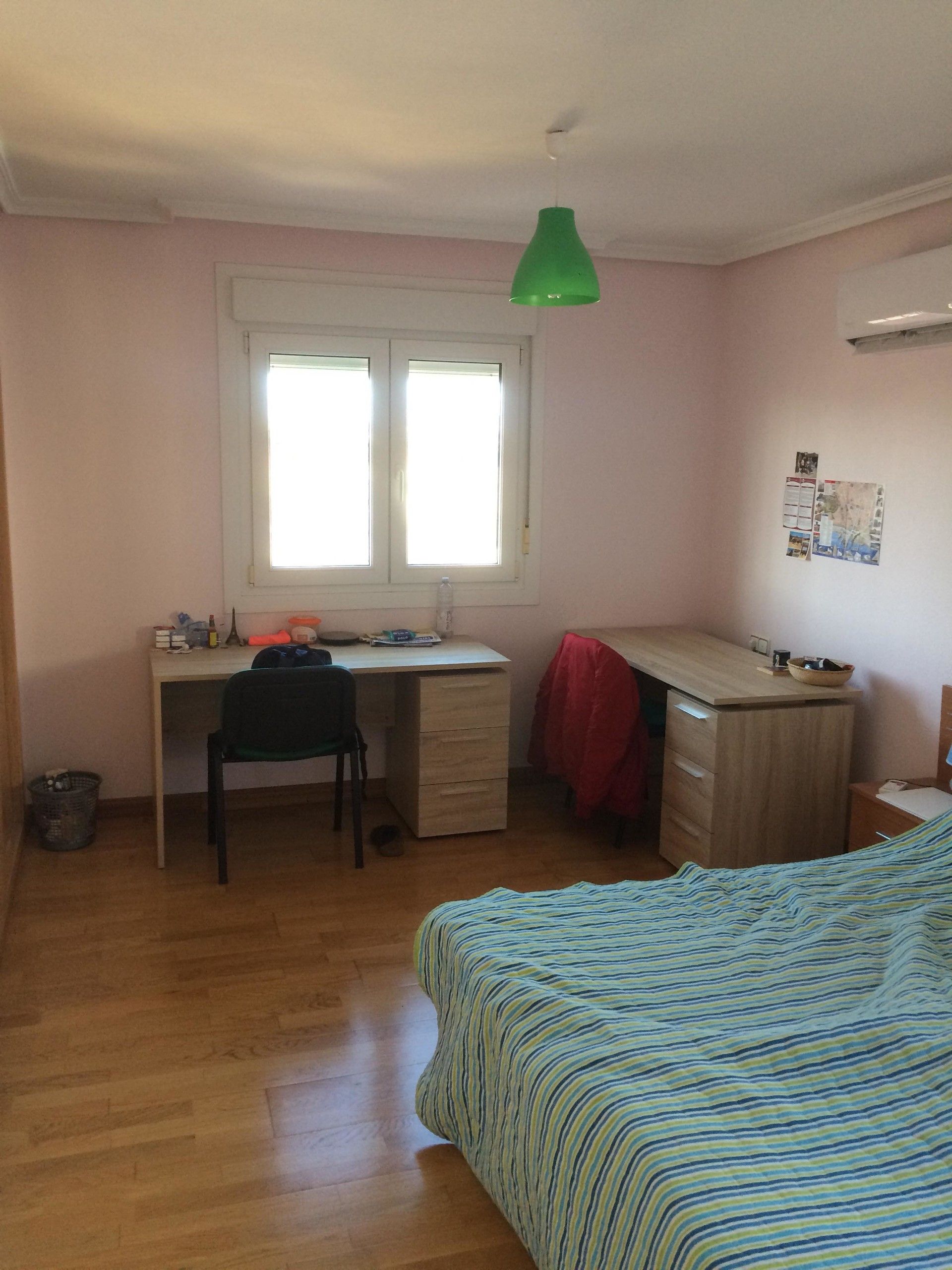 large double bedroom with extras  university dorm almeria
