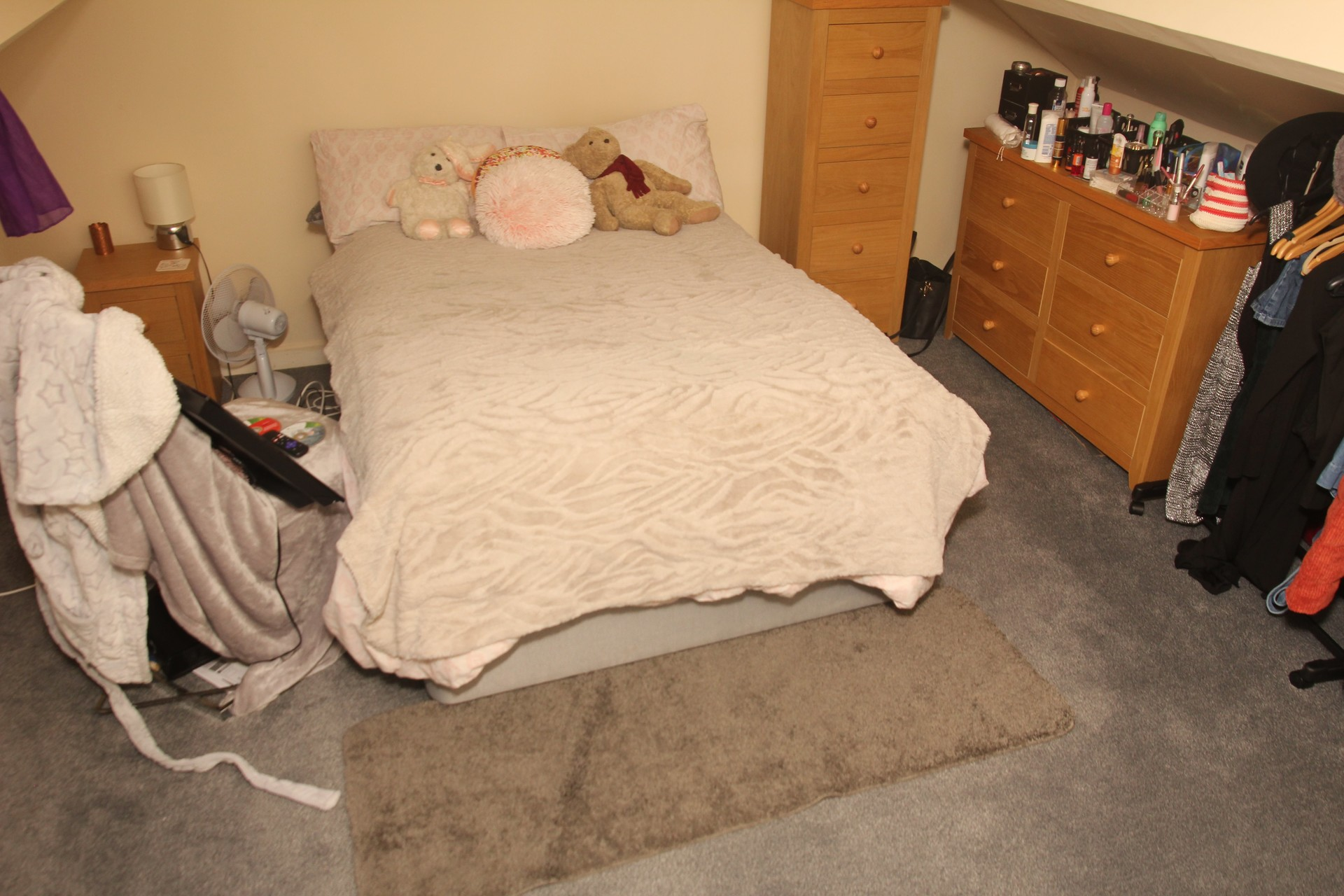 large double room in a student house great price