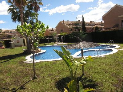 Large modern house w pool garden terraces in San Juan Alicante