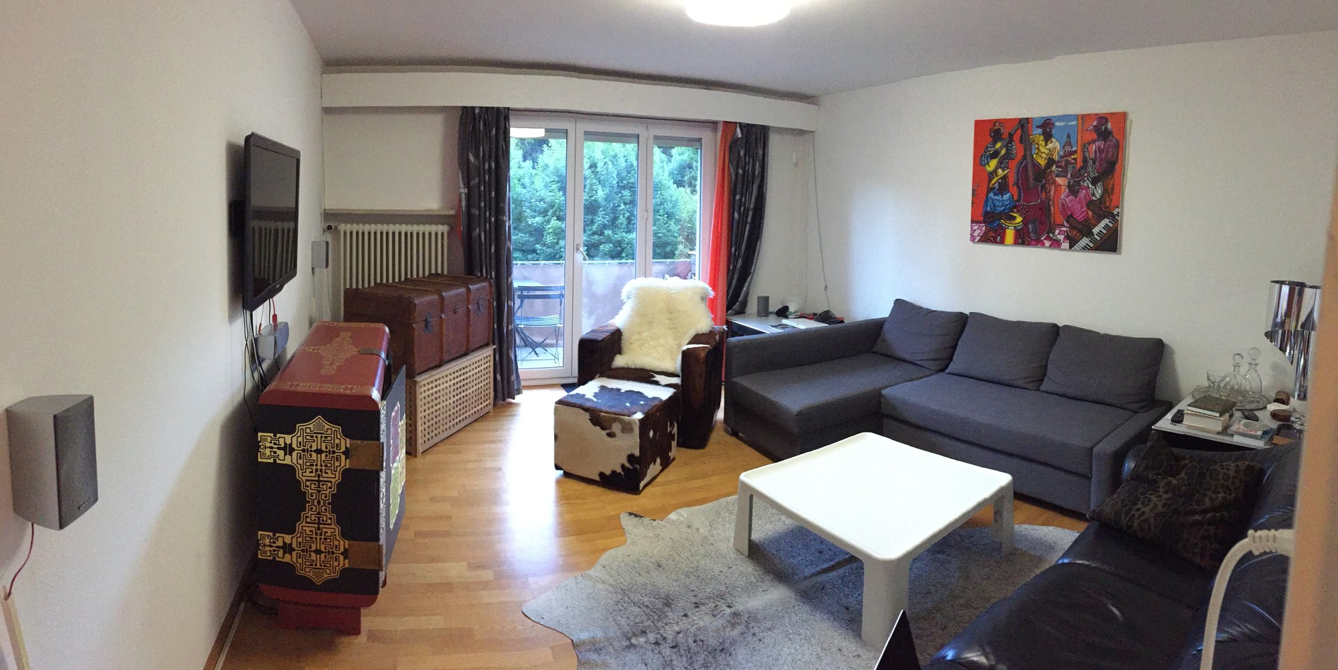 High Quality ... Large And Sunny Apartment In Zürich ...
