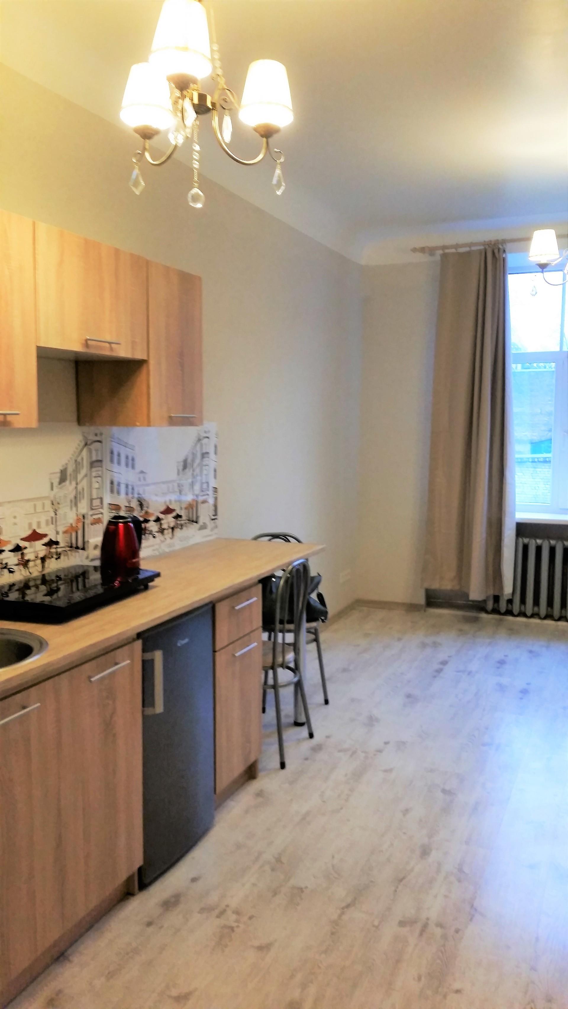 Large sunny private apartment center Riga