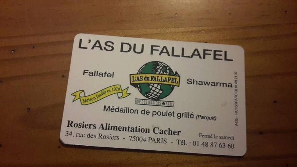 L'AS DU FELAFEL LE MARAIS