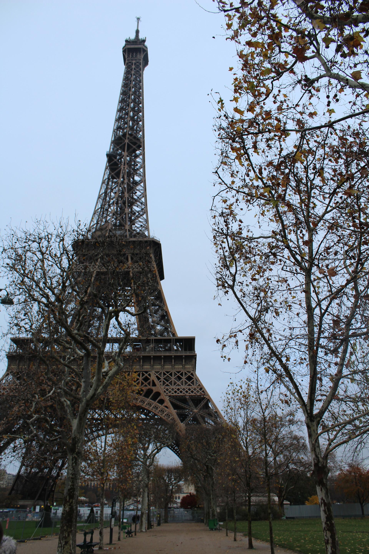 Le jardin de la Tour Eiffel