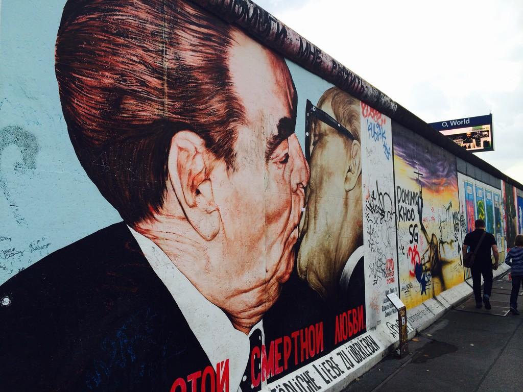 Le Mur qui a divisé l'Europe en deux, aujourd'hui devenu un espace pour la culture