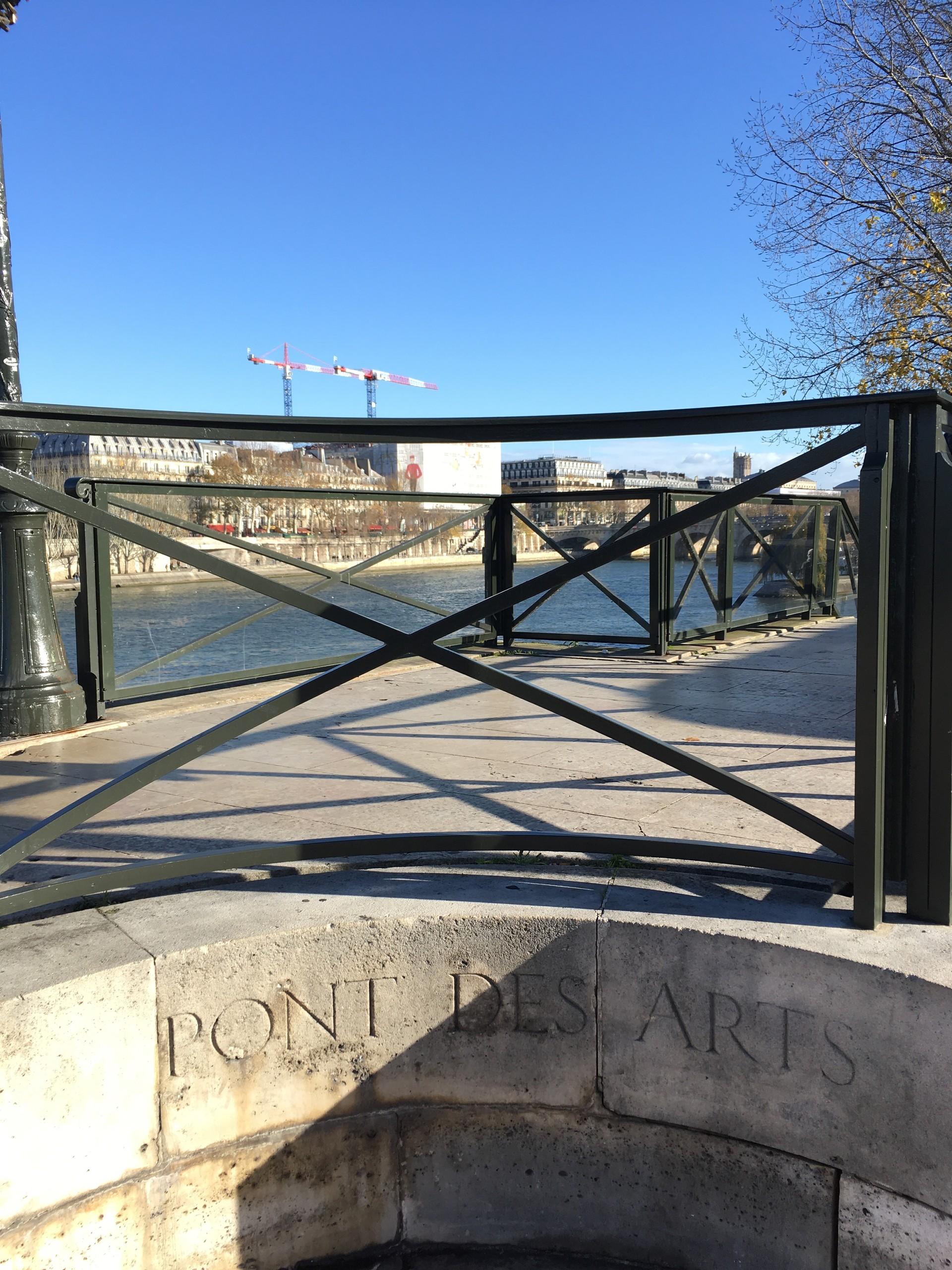 Le nouveau Pont des Arts