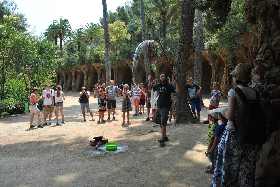 Le parc Güell, un lieu immanquable!