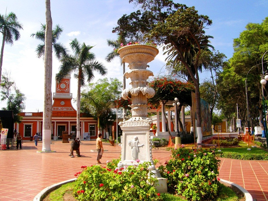 Le quartier bohême de Lima