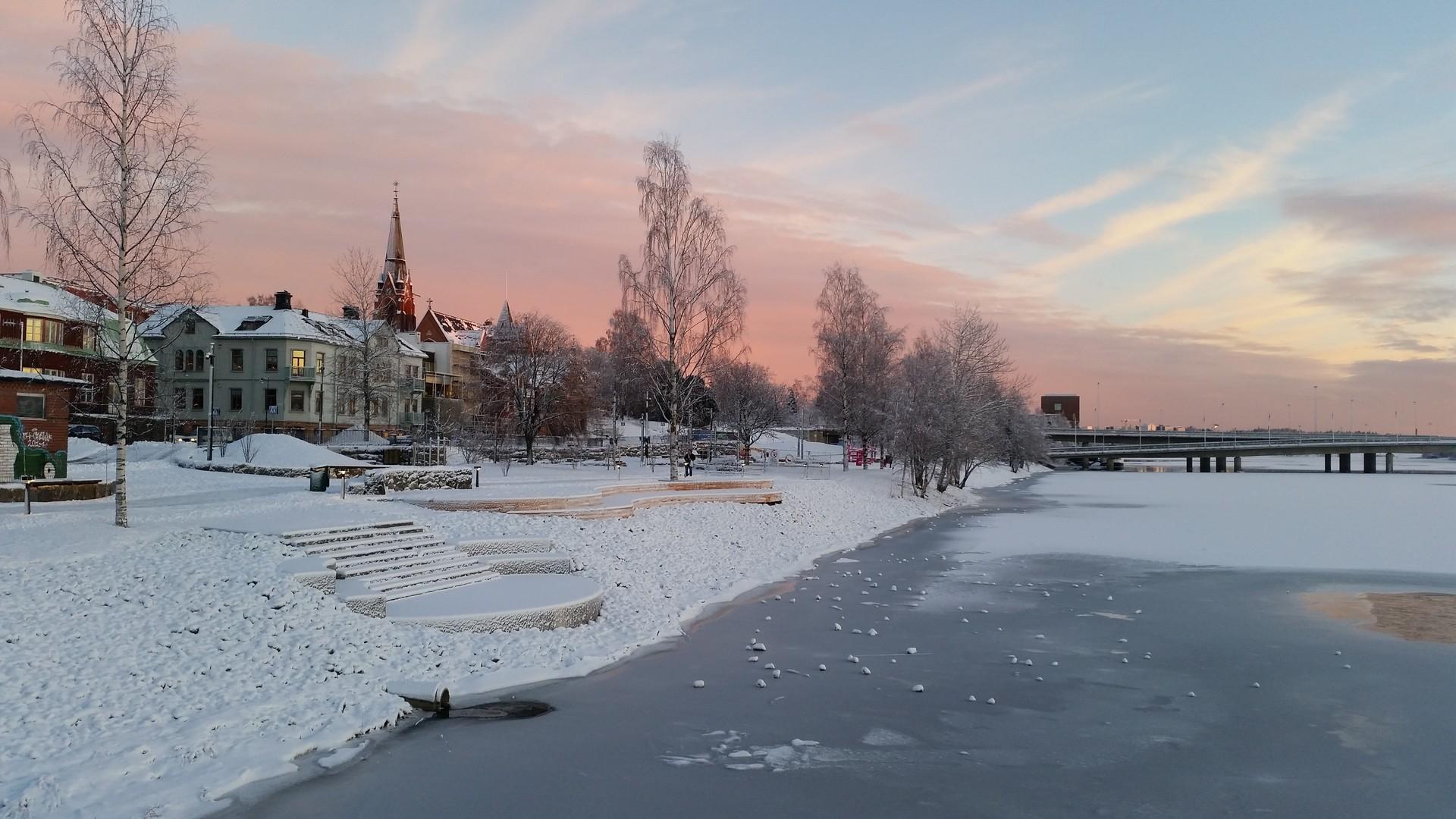 Leben in Umeå, Schweden von Kim
