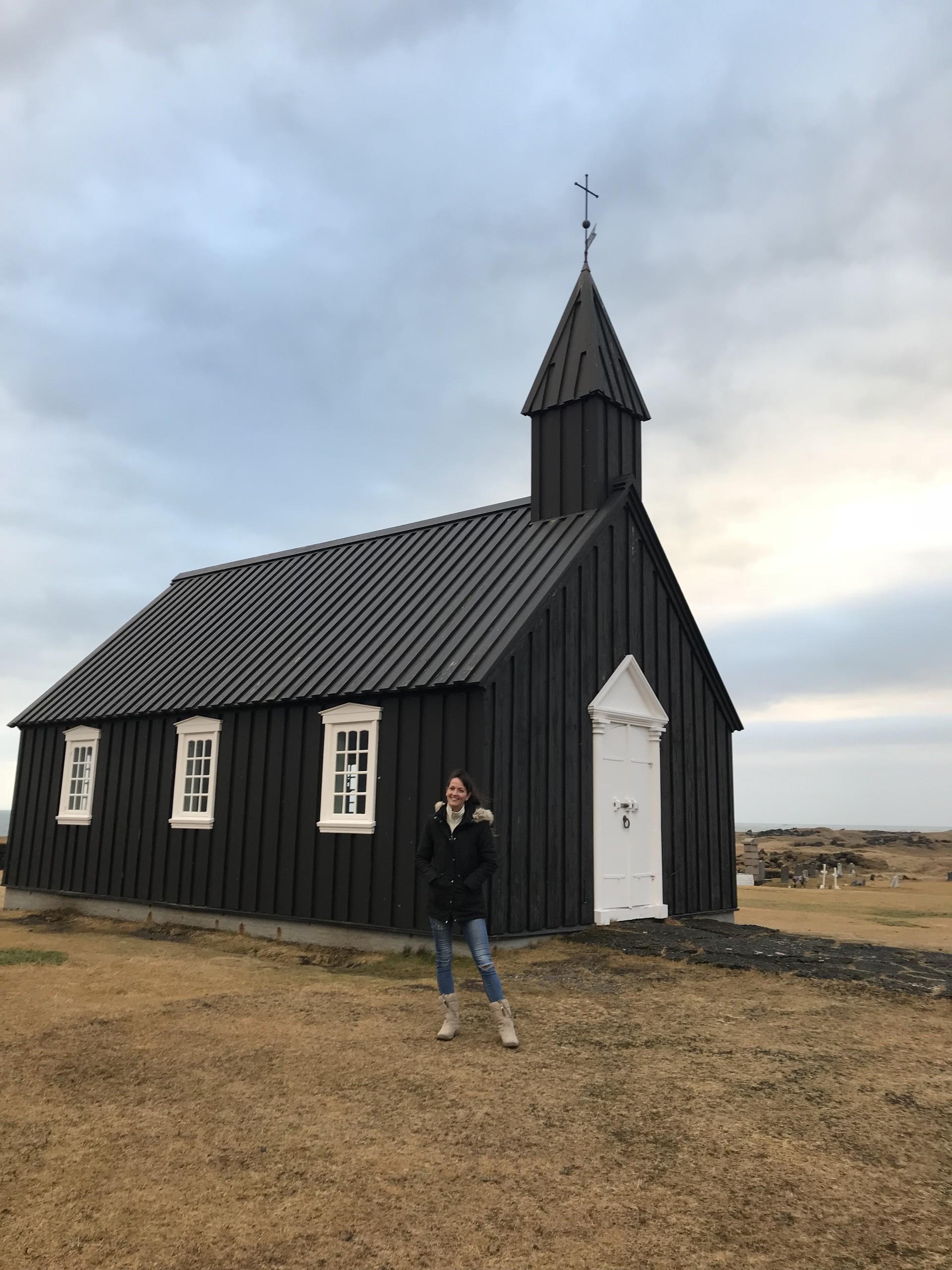 L'église noire de Budhir