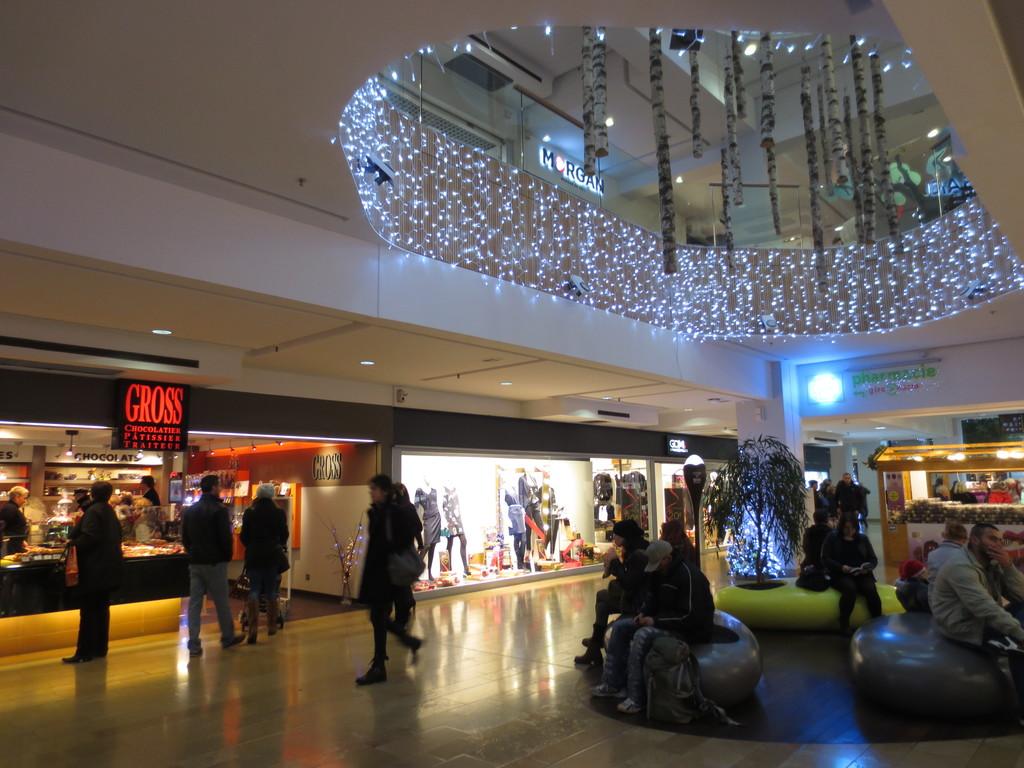 Les halles qu hacer en estrasburgo - Decoracion navidena para comercios ...