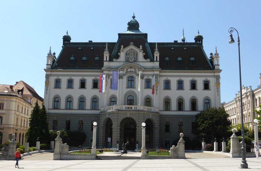 L'esperienza all'Università di Lubiana (Slovenia) di Guillaume