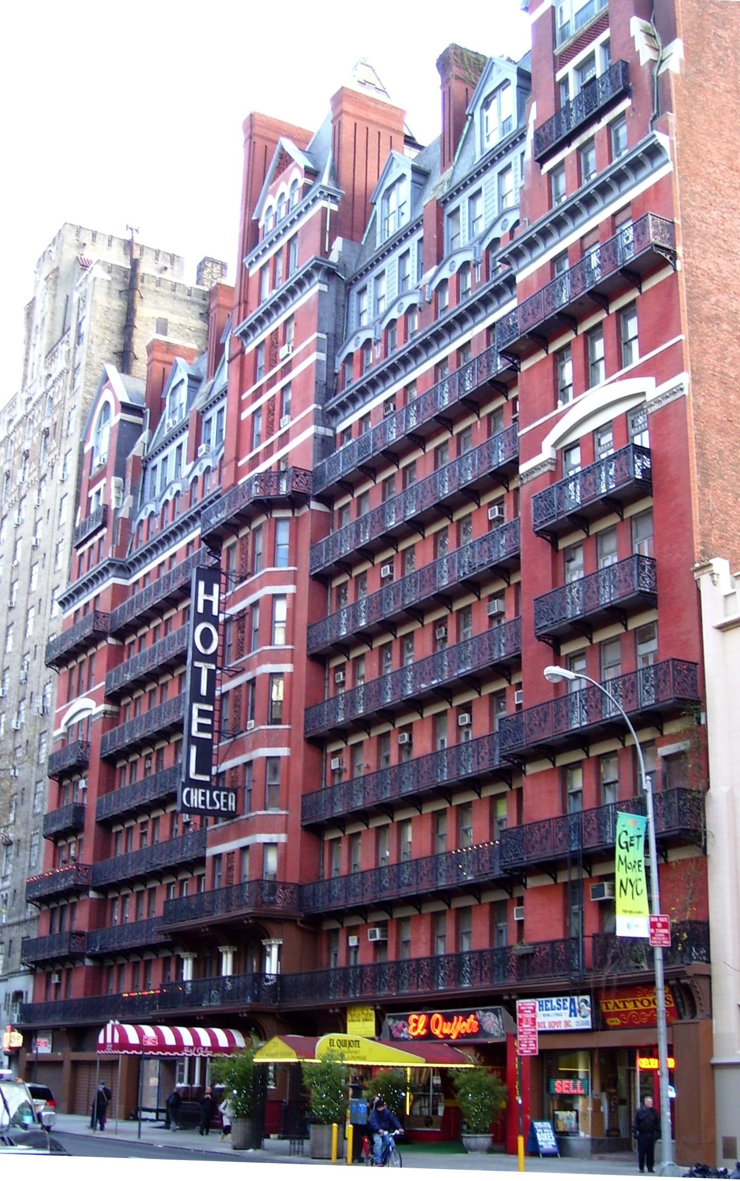 L'expérience d'Angelica à New York, États-Unis