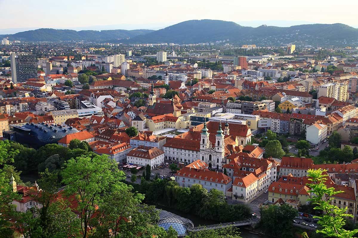 L'experience Erasmus de Fathia a Graz, Autriche