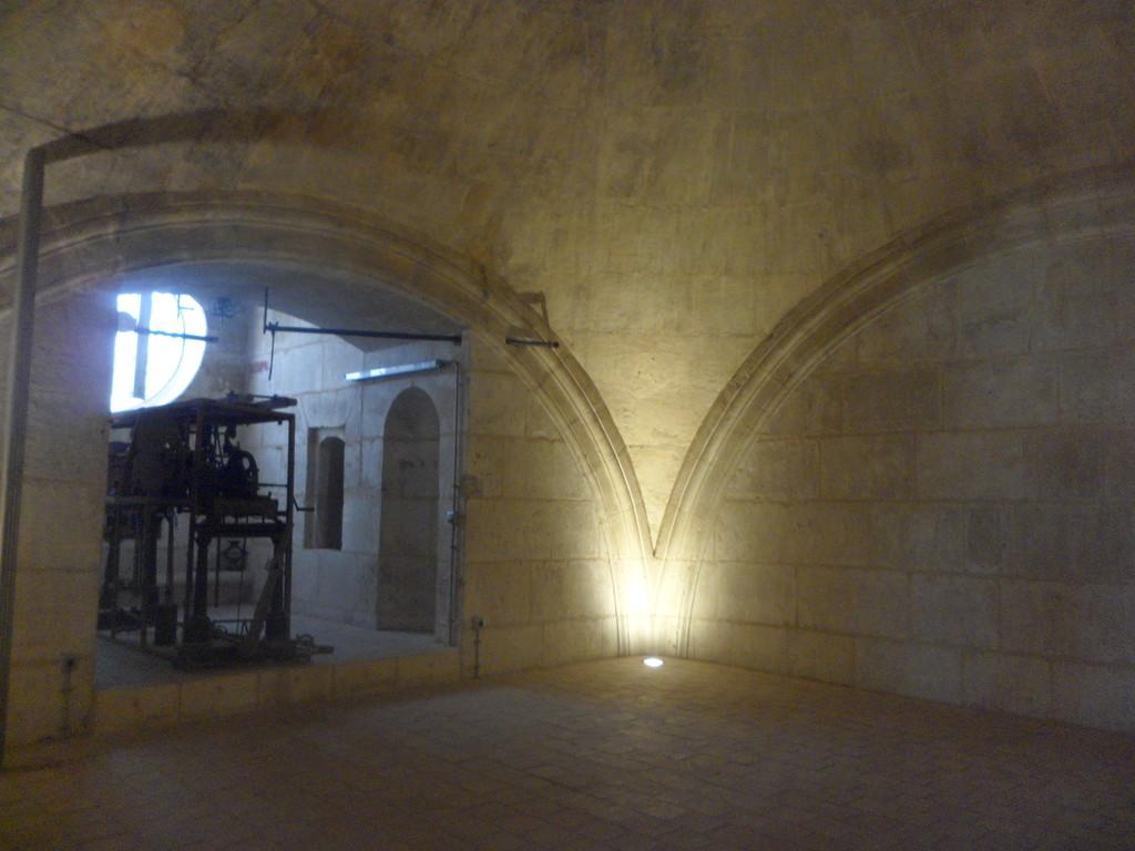 L'exploration des recoins de la cathédrale...