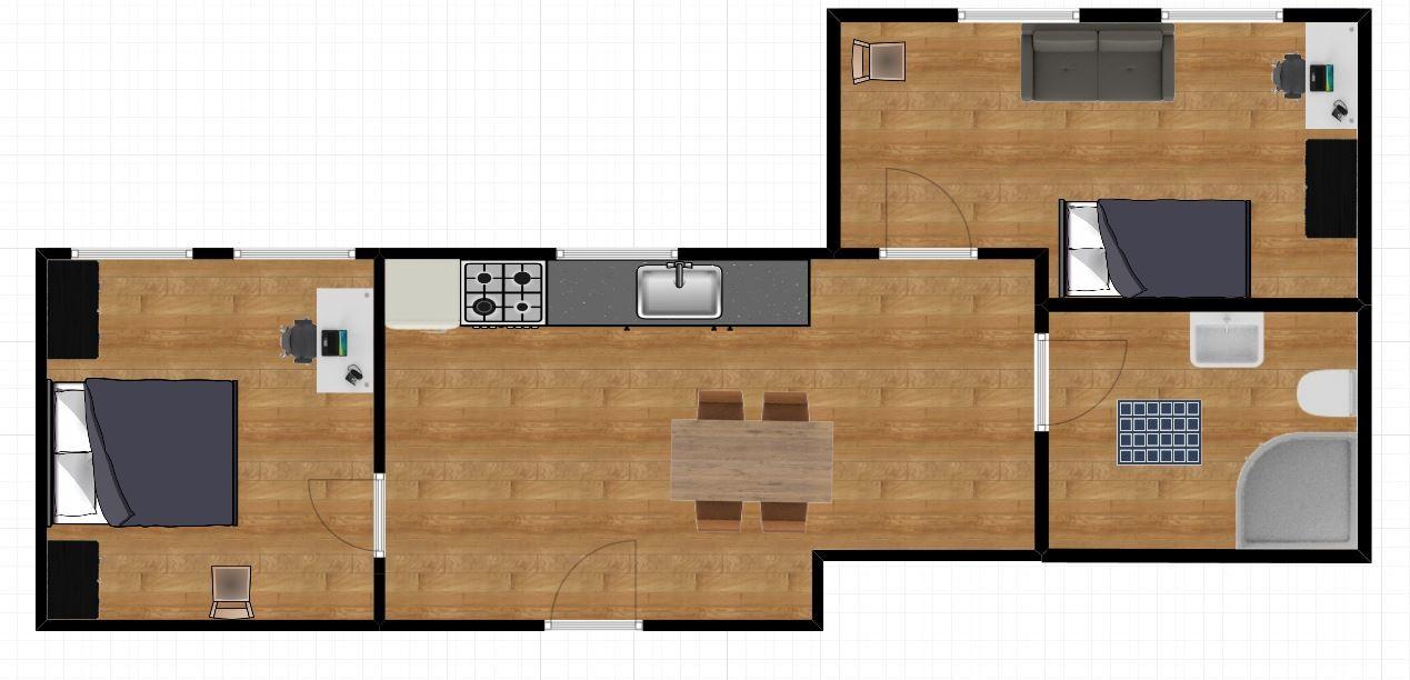LIMOS New Modern High Standard Apartment 2 rooms -  SOPOT center
