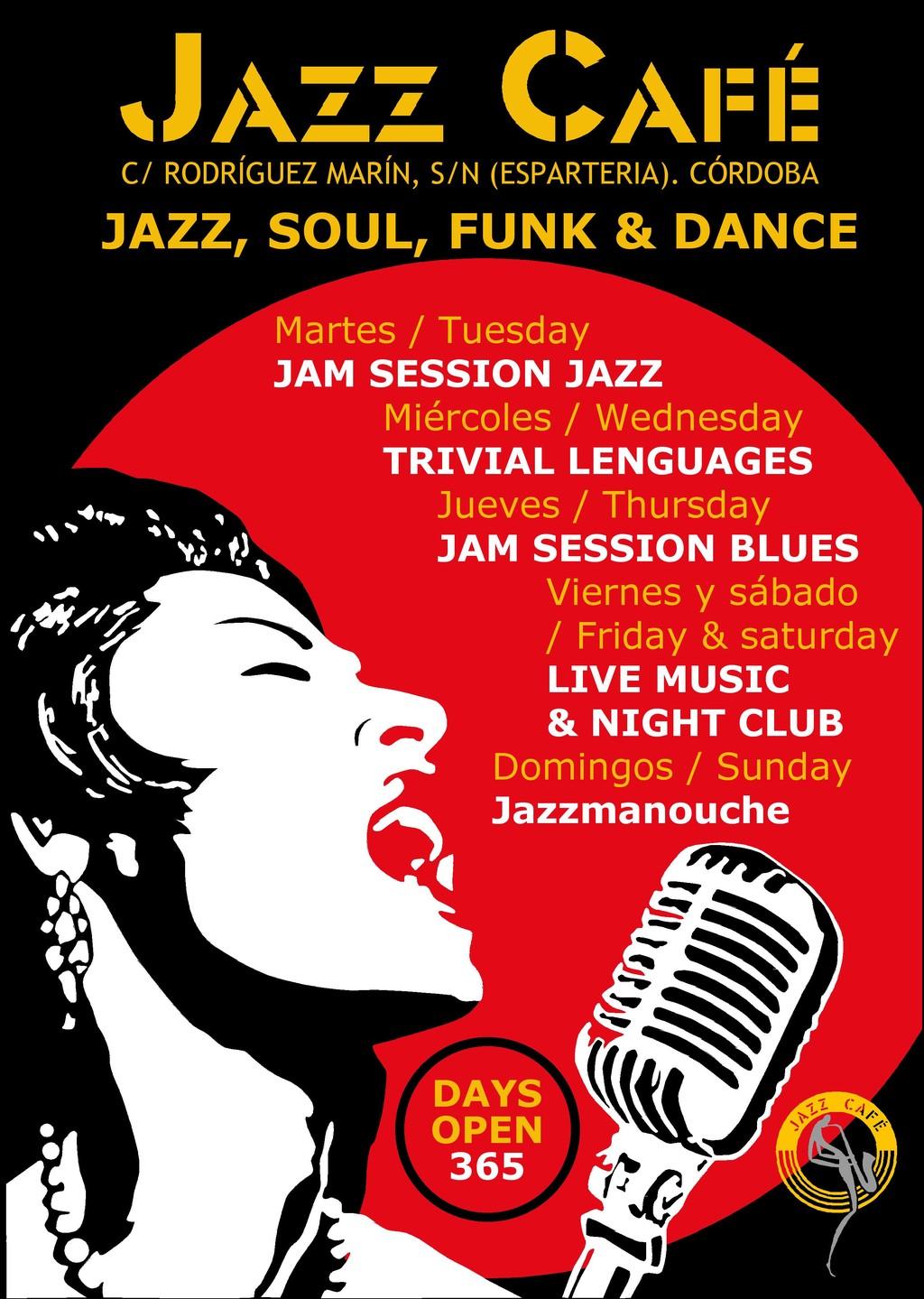 Local de jazz, soul, funk y dance