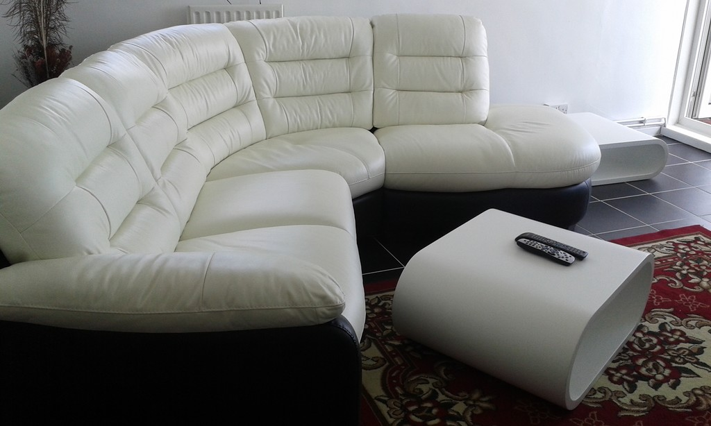 London University Dorms Living Room