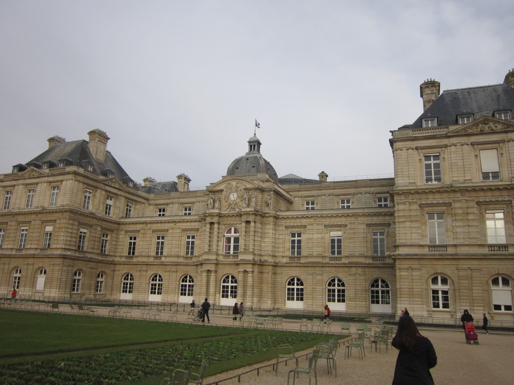 Luxembourg Palace and its gardens