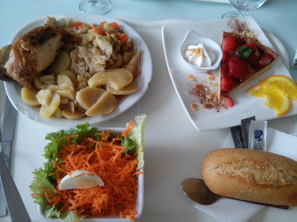 Lyons university restaurants... Or a complete and great value menu! :D