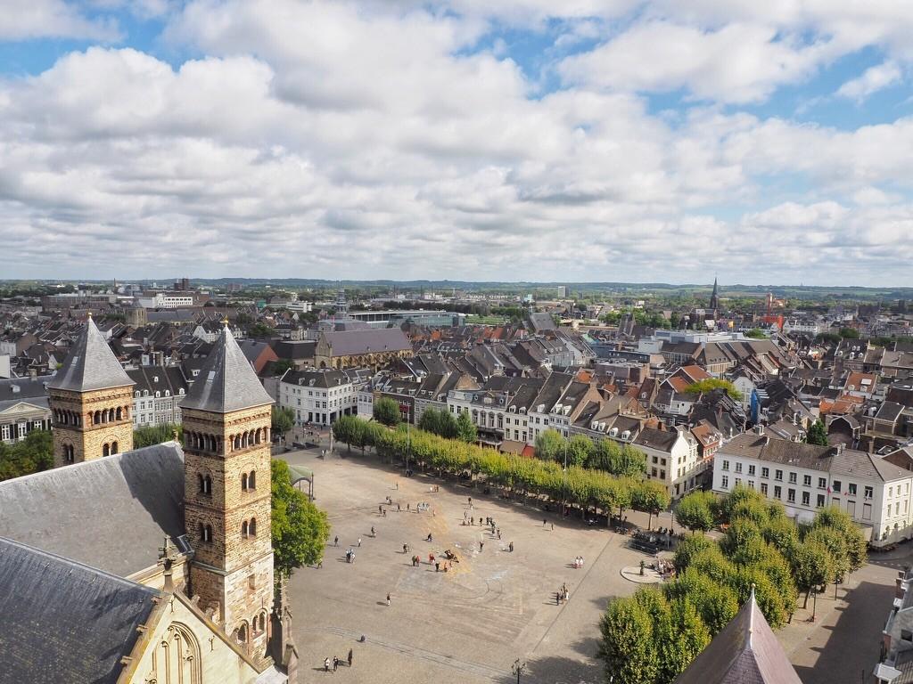 Maastricht dall'alto