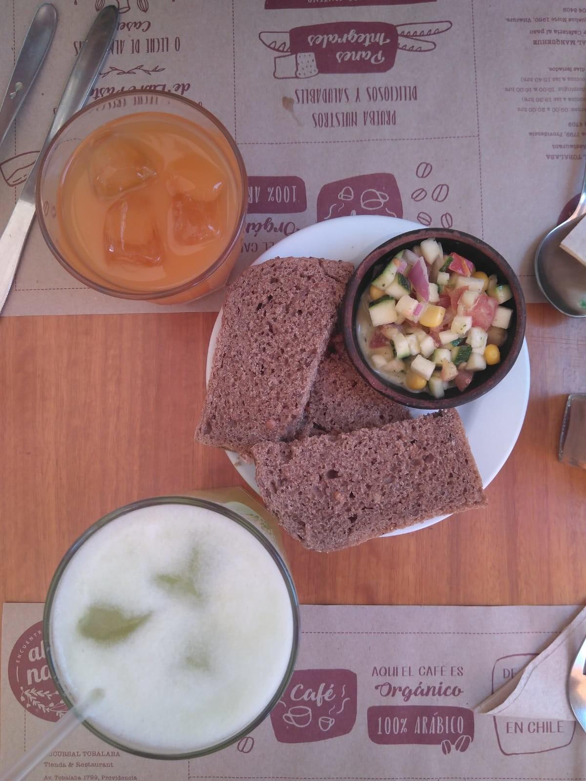 Magnífica opción saludable para comer en Santiago de Chile