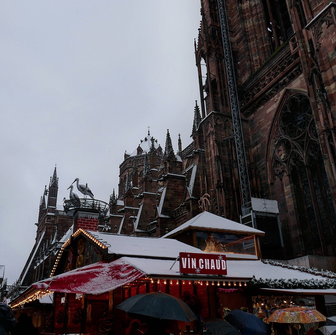 Marché de Noël à Strasbourg.