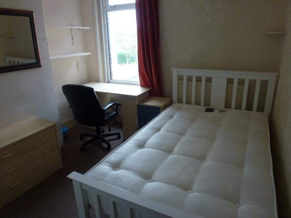 Medium sized double bedroom